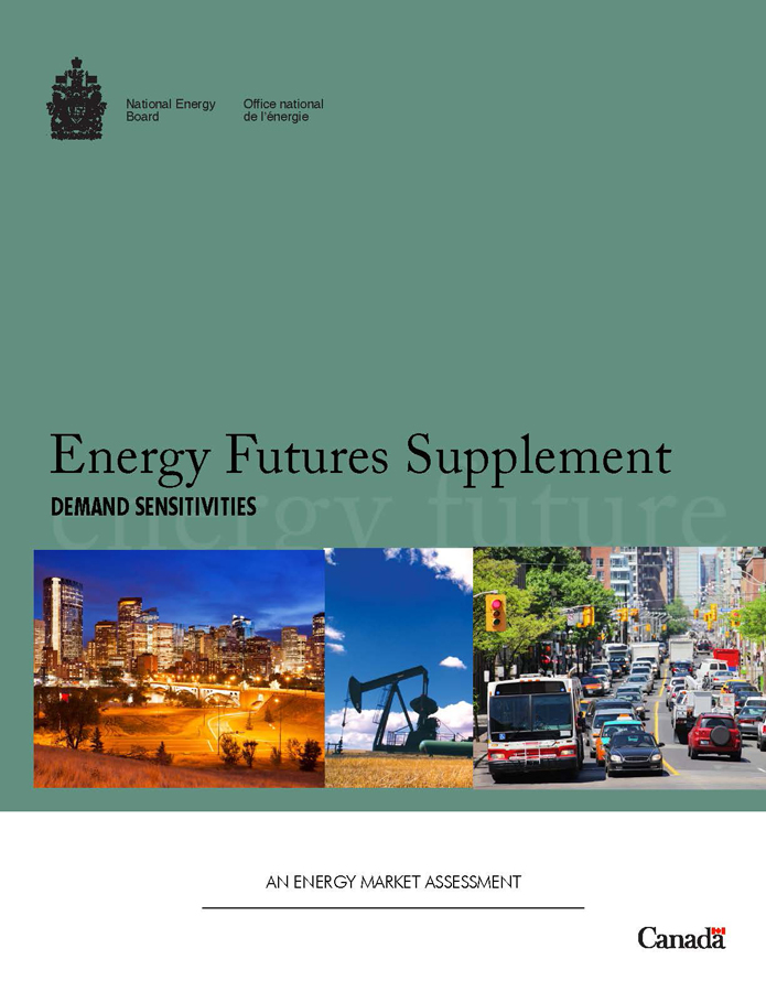 Energy Futures Supplement: Demand Sensitivities