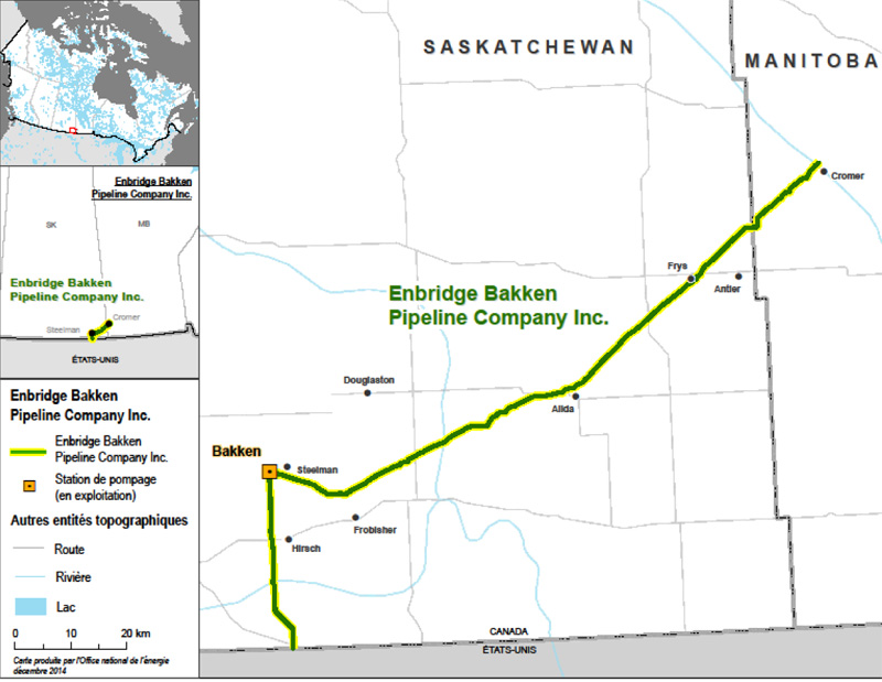 Figure 2 : Enbridge Bakken Pipeline Company Inc.