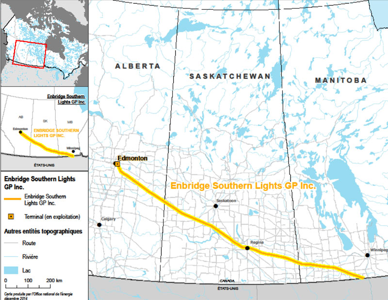 Figure 3 : Enbridge Southern Lights GP. Inc