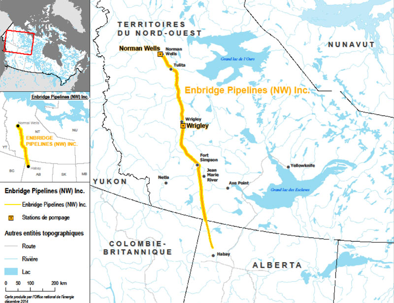 Figure 4 : Enbridge Pipelines (NW) Inc.