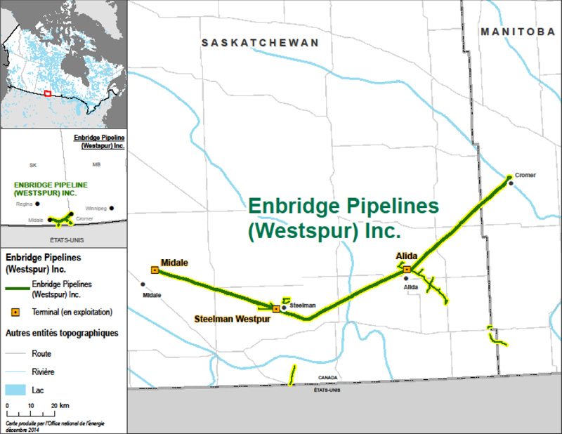 Figure 5 : Enbridge Pipelines (Westspur) Inc.