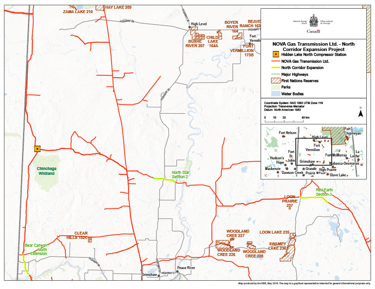 NOVA Gas Transmission Ltd. – North Corridor Expansion Project